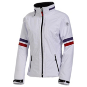 Bogner Fire + Ice Salida Womens Insulated Ski Jacket, White, medium