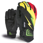 Level Thunder XCR Gloves, Pk Rainbow, medium