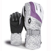 Level Matrix Womens Gloves, Purple, medium