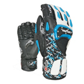 Level SQ CF Ski Racing Gloves, Royal, medium