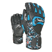 Level SQ CF Ski Racing Gloves, Black, medium
