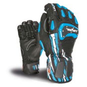 Level SQ CF Ski Racing Gloves, Blue, medium