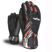 Level Axel CF Junior Ski Racing Gloves, Black, medium