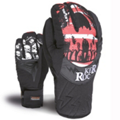 Level Rocker Kids Gloves, Red, medium