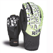 Level Rocker Kids Gloves, Green, medium