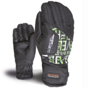 Level Alpine Girls Gloves, Logos, medium