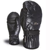 Level Dixy Womens Mittens, Black, medium