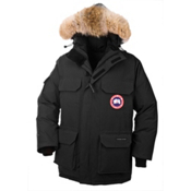 Canada Goose Expedition Parka Mens Jacket, Black, medium