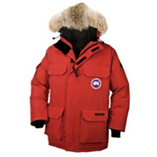 Canada Goose Expedition Parka Mens Jacket, Red, medium