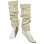 Dale Of Norway Lid Leg Warmers, Off White, medium