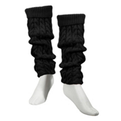 Dale Of Norway Lid Leg Warmers, Black, medium