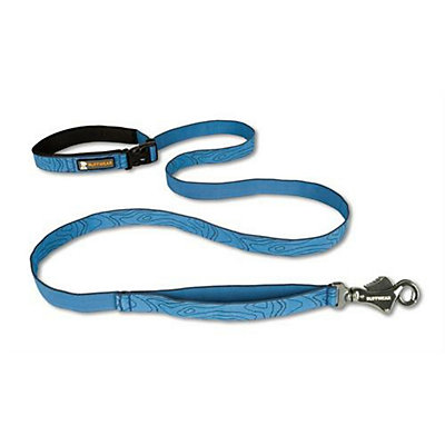 Ruffwear Flat Out Pattern Leash, Topo, large