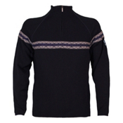 Dale Of Norway Viking Masculine Mens Sweater, Navy-Off White-Nacht, medium