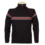 Dale Of Norway Viking Masculine Mens Sweater, Black-Off White-Torrero, medium