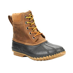 Sorel Cheyanne Lace Mens Boots, Chipmunk-Black, 256