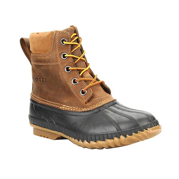 Sorel Cheyanne Lace Mens Boots, Chipmunk-Black, 600