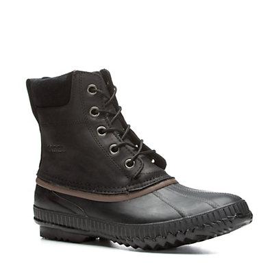 Sorel Cheyanne Lace Mens Boots, Chipmunk-Black, viewer