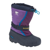 Sorel Flurry TP Girls Boots, Hyacinth-Gloxi, medium