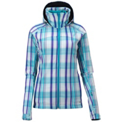 Salomon Snowtrip Premium Womens Insulated Ski Jacket, Bay Blue-White-Bay Blue, medium