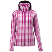 Salomon Snowtrip Premium Womens Insulated Ski Jacket, Fancy Pink-White-Fancy Pink, medium