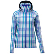 Salomon Snowtrip Premium Womens Insulated Ski Jacket, Dark Violet Blue-White-Dark Vi, medium