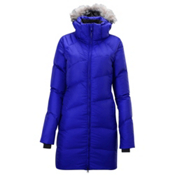 Salomon Boreal Long II Womens Jacket, Dark Violet Blue, medium