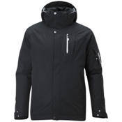 Salomon Zero II Mens Insulated Ski Jacket, Black, medium