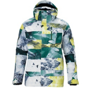 Salomon Zero II Mens Insulated Ski Jacket, Fairplay-Corona Yellow-Black, medium