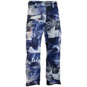Salomon Supernatural II Mens Ski Pants, Astral-Black-White, medium
