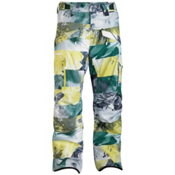 Salomon Supernatural II Mens Ski Pants, Fairplay-Corona Yellow-Black, medium