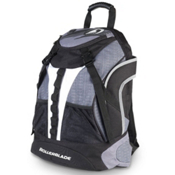 Rollerblade Quantum Skate Backpack, Gray-Black, medium