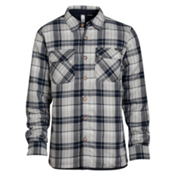 Oakley Evolving Woven Flannel, Stone Gray, medium