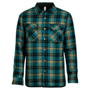 Oakley Evolving Woven Flannel, Aurora Blue, medium