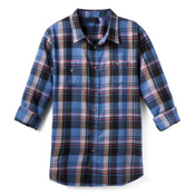 Oakley Pioneer Woven Flannel, Blue Base, medium