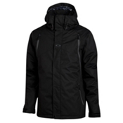 Oakley Goods Mens Shell Ski Jacket, Jet Black, medium