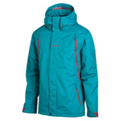Oakley Goods Mens Shell Ski Jacket, Aurora Blue, medium