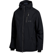 Oakley Great Ascent Mens Shell Ski Jacket, Jet Black, medium