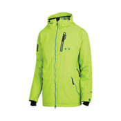 Oakley Great Ascent Mens Shell Ski Jacket, Lightning Green, medium