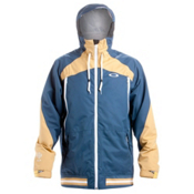 Oakley Originate Mens Shell Ski Jacket, Blue Shade, medium