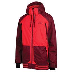 Oakley Originate Mens Shell Ski Jacket, Red Line, 256