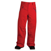 Oakley Shelf Life Mens Ski Pants, Red Line, medium