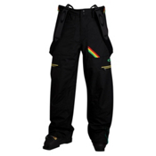 Oakley Originate Mens Ski Pants, Black, medium