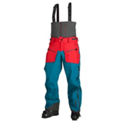 Oakley Unification Pro Mens Ski Pants, Aurora Blue, medium