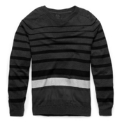 Oakley Unique Time Mens Sweater, Dark Heather Grey, medium