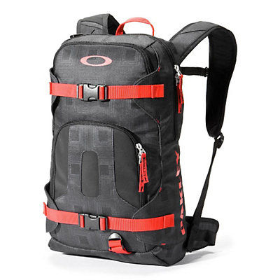Oakley Snowmad Day Pack Backpack, Jet Black, large