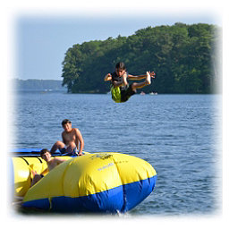 Rave Aqua Launch Water Trampoline Attachment, , 256
