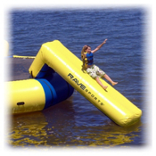 Rave Aqua Slide Large Water Trampoline Attachment, , medium