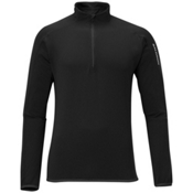 Salomon XA 1/2 Zip Mens Mid Layer, Black, medium