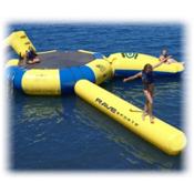 Rave Aqua Log Large Water Trampoline Attachment 2016, , medium