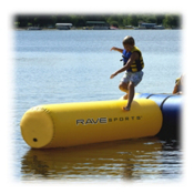 Rave Aqua Log Small Water Trampoline Attachment, , medium